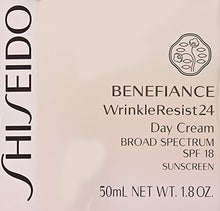 Load image into Gallery viewer, Shiseido SPF 18 Benefiance Wrinkle-Resist 24 Day Cream for Unisex, 1.8 Ounce