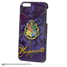 Load image into Gallery viewer, The Noble Collection Harry Potter Official Hogwarts House Crest iPhone 6 Plus Case