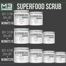 Load image into Gallery viewer, M3 Naturals Superfood Scrub infused with Collagen and Stem Cell  Skin Care 12 oz