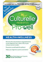 Load image into Gallery viewer, Culturelle Pro-Well Daily Probiotic Supplement - Immune Support - With the proven effective Probiotic - 15 Billion CFU - 30 Vegetarian Capsules