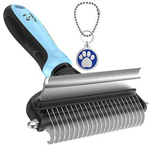 Load image into Gallery viewer, Dog Brush and Cat Brush – 2 Sided Pet Grooming Tool