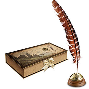 The Noble Collection Harry Potter Hogwart's Writing Quill with Stand