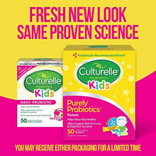 Load image into Gallery viewer, Culturelle Kids Daily Probiotic Packets Dietary Supplement | Helps Support a Healthy Immune & Digestive System 50 Single Packets