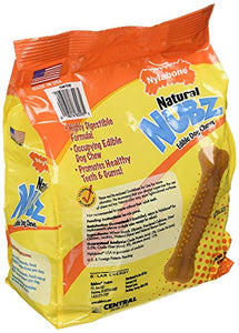 Natural Nubz Edible Dog Chews 22ct. (2.6lb bag)(Pack of 2)