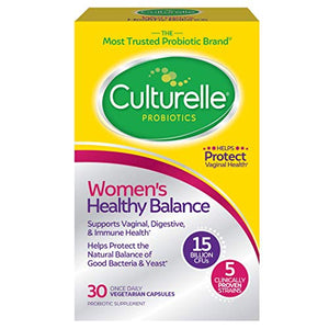 Culturelle Women's Healthy Balance Probiotic for Women | 30 Count |