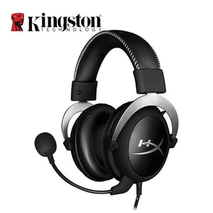 Kingston HyperX Cloud Pro Silver Gaming Headphone with Microphone Volume Control Headset 3.5mm Plug Steelseries Auriculares