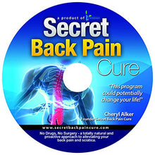 Load image into Gallery viewer, 24Seven Wellness & Living Back Pain Relief DVD, Natural Prevention of Lower, Upper, Neck and Sciatic Pain.