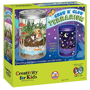 Creativity For Kids Grow 'N Glow Terrarium Science Kits for Kids