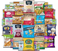 Load image into Gallery viewer, Healthy Snacks Care Package - Variety Assortment of Popcorn, Chips, Nuts, Bars, Fruit Snacks (40 Count)