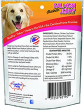 Load image into Gallery viewer, Carolina Prime Pet 40192 Salmon Jerky Treat For Dogs ( 1 Pouch), One Size