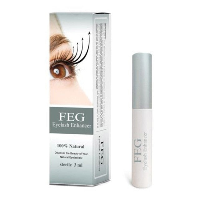100% Original 3ml FEG Brand Enhancer Eyelash Serum Growth Treatment Herbal Medicine Lengthening Natural Eyelash Enhancer Serum