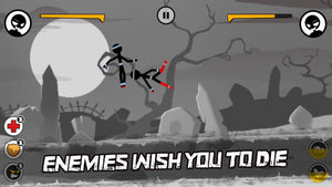 Sticked Man Fighting - Cartoon War Games