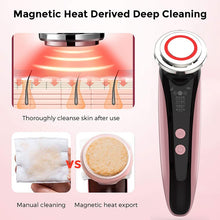 Load image into Gallery viewer, 5 in 1 EMS Beauty Instrument RF RadioFrequency Facial LED Photon Skin Care Tool Device Face Lift Massage Tighten Beauty Machine