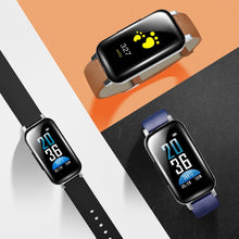 Load image into Gallery viewer, T89 TWS Wireless Bluetooth 5.0 Earphones Dual Stereo Headphone Heart Rate Monitor Sport Watch Headphone For IOS Android Phone