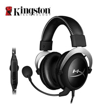Load image into Gallery viewer, Kingston HyperX Cloud Pro Silver Gaming Headphone with Microphone Volume Control Headset 3.5mm Plug Steelseries Auriculares
