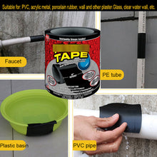 Load image into Gallery viewer, 1.52m Super Strong  Flex TAPE Waterproof Tape Stop Leak Seal Repair Tape Performance Self Tape Fiberfix Adhesive Tape PE tube PVC etc