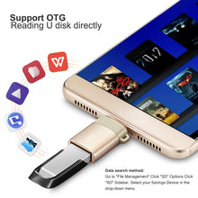 Load image into Gallery viewer, Type-c usb c adapter micro type c usb-c usb 3.0 Charge Data Converter