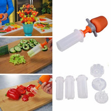 Load image into Gallery viewer, Creative Kitchen Pop Tools Plastic Vegetable Fruit Shape Cutter Slicer Veggie Food Chef Snack Maker Cake