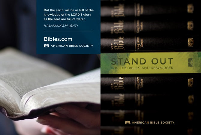 Bibles.com ! An American Bible Society Ministry.