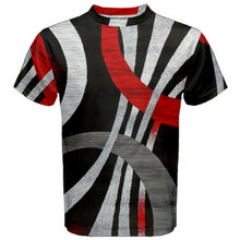 "Load image into Gallery viewer, Men's abstract ""Tee Shirt 2match your kicks"" Jordan Retro 3 ""Red Cement"""