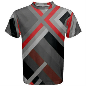 "Men's abstract ""Tee Shirt 2match your kicks"" Jordan Retro 3 ""Red Cement"" #AA"