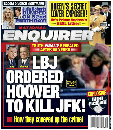 National Enquirer 52 issues per year