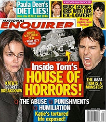 National Enquirer Published Weekly | 52 issues per year