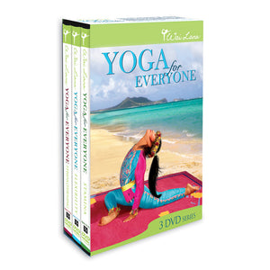 "Wai Lana ""Yoga for Everyone"" DVD Tripack"