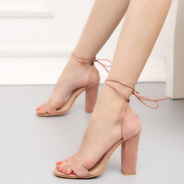 Women's Fashion Summer High Heels Shoes