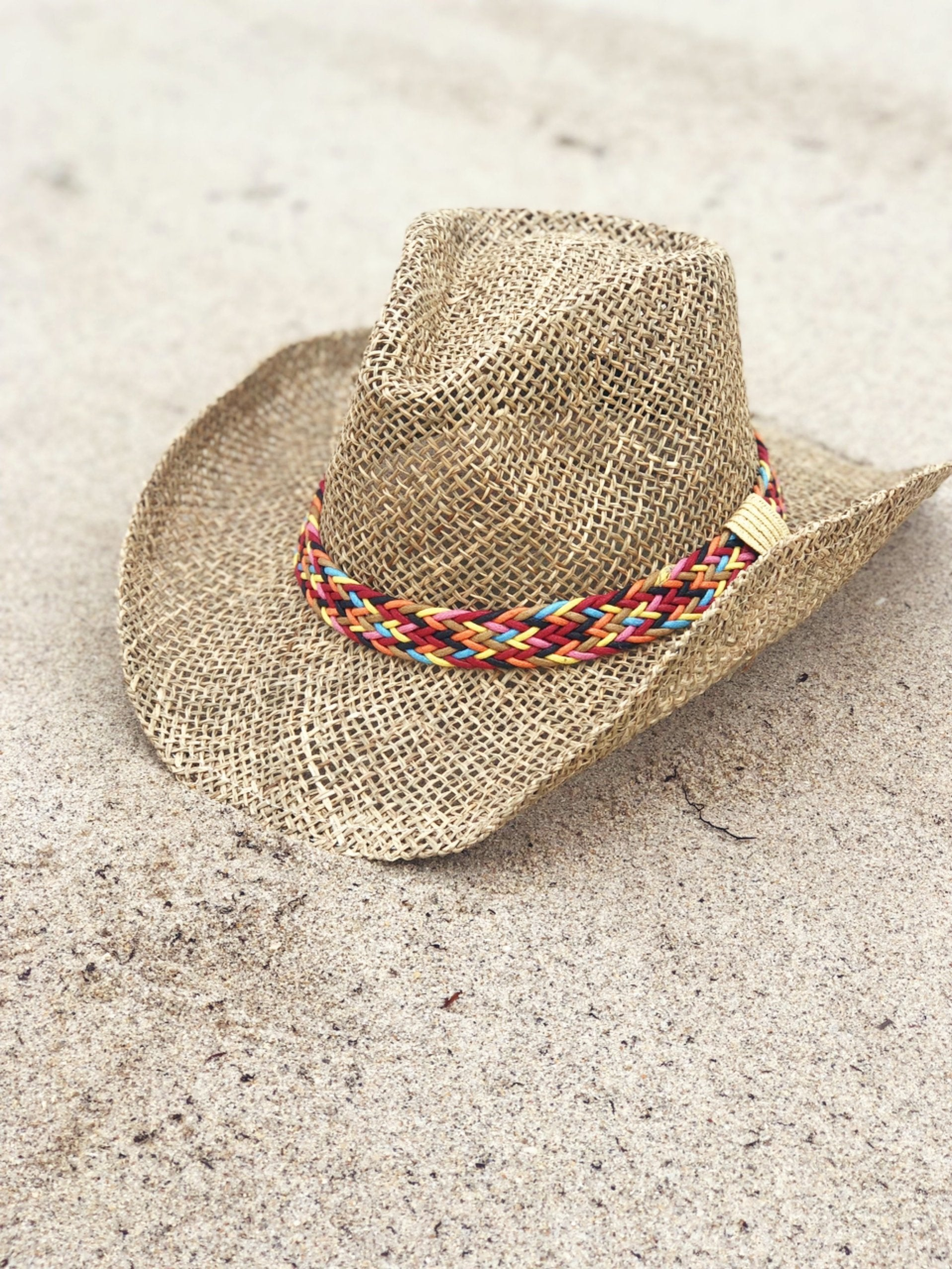 Hat 'Charlotte' Multi-Color Band Cowboy