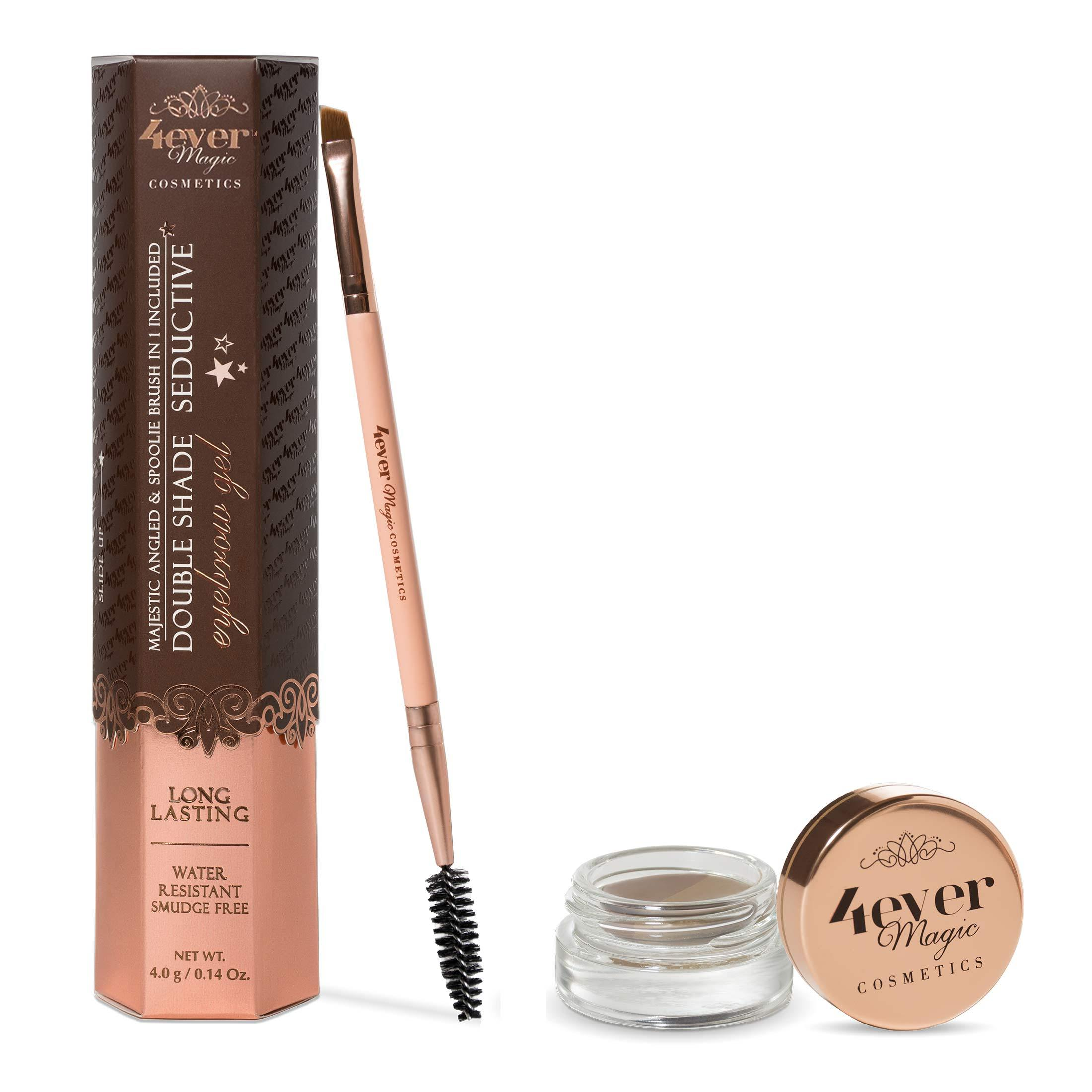 Make-Up-Double Shade Eyebrow Gel and Brush