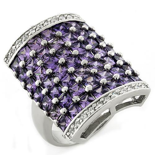Ring Amethyst  925 Sterling Silver