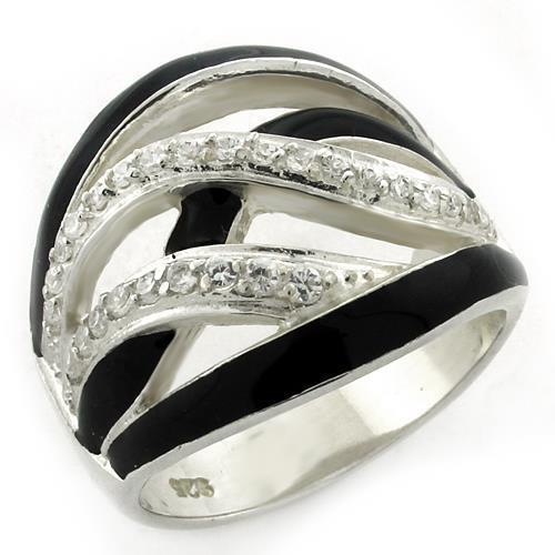 Ring in 925 Sterling Silver High-Polished