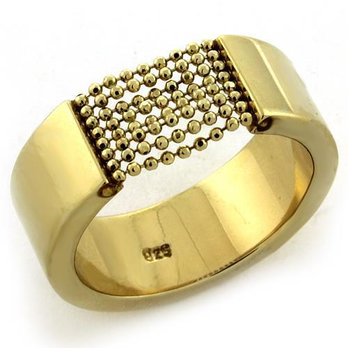 Ring- Gold Plated on Sterling Silver