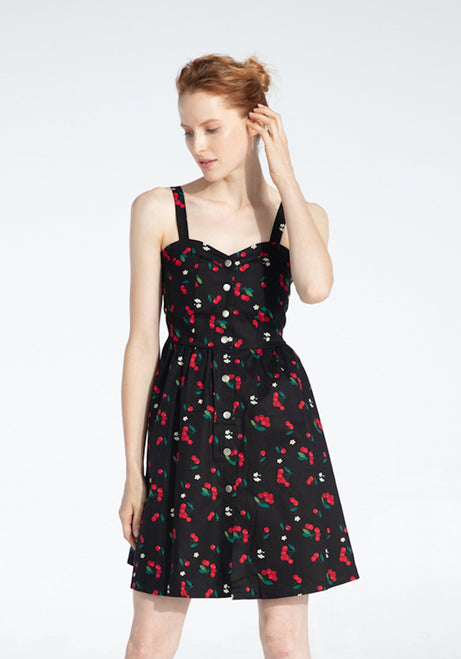 Maya's Sweet Cherry Kisses Dress-2