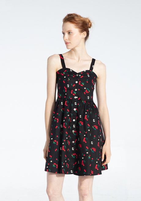 Maya's Sweet Cherry Kisses Dress-3