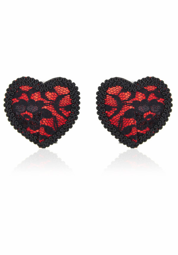 Paula's Sensual Heart Nipple Pasties - Plengood