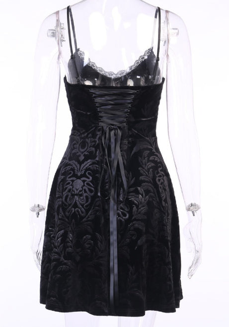 Rose's Damn Hot Gothic Dress-3