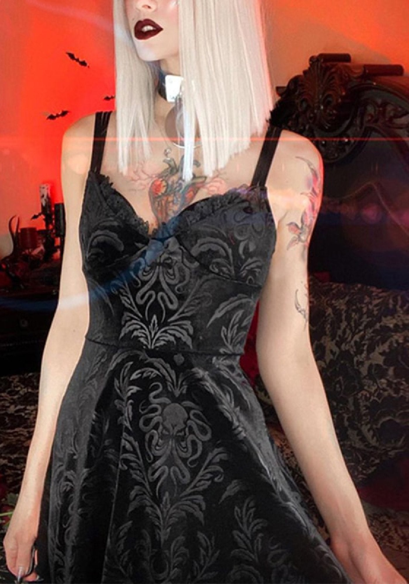 Rose's Damn Hot Gothic Dress-1