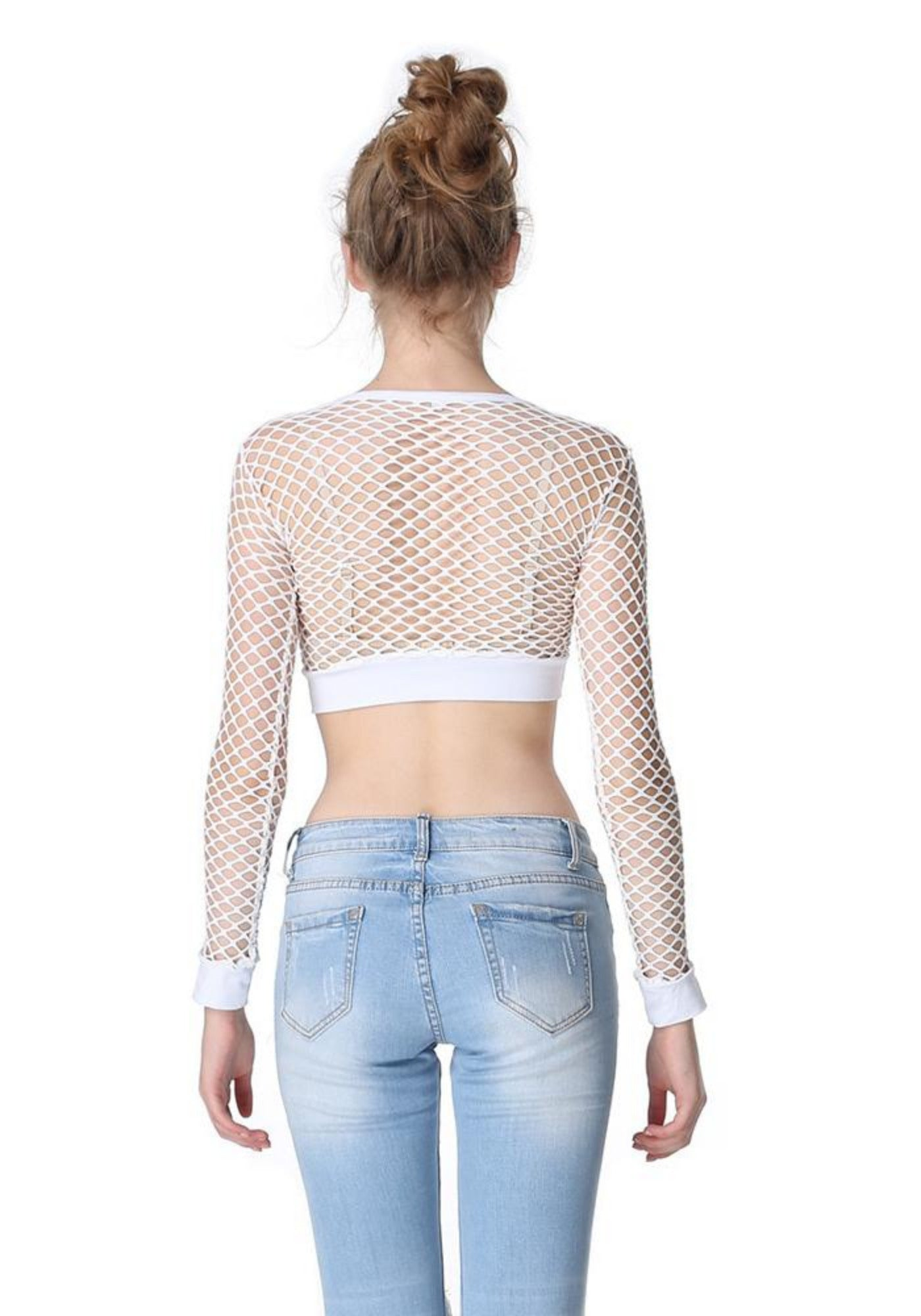 Susi's Catchy Fishnet Top-3