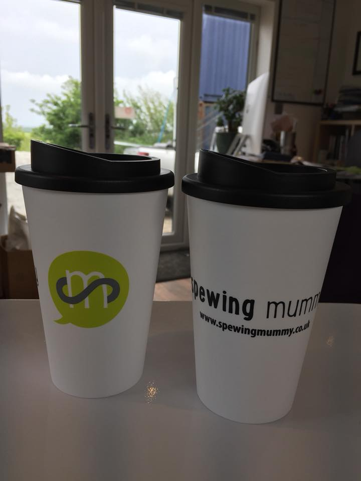 Spewing Mummy Reusable Mug
