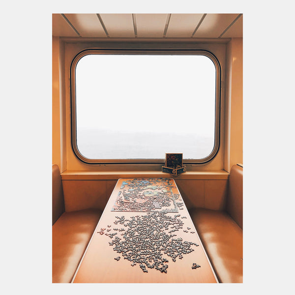 Art Print - Ferry Puzzle