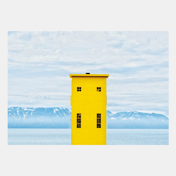 NYC: Art Print - Yellow Lighthouse