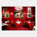 NYC: Art Print - Red Restaurant