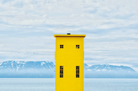 Art Print - Yellow Lighthouse