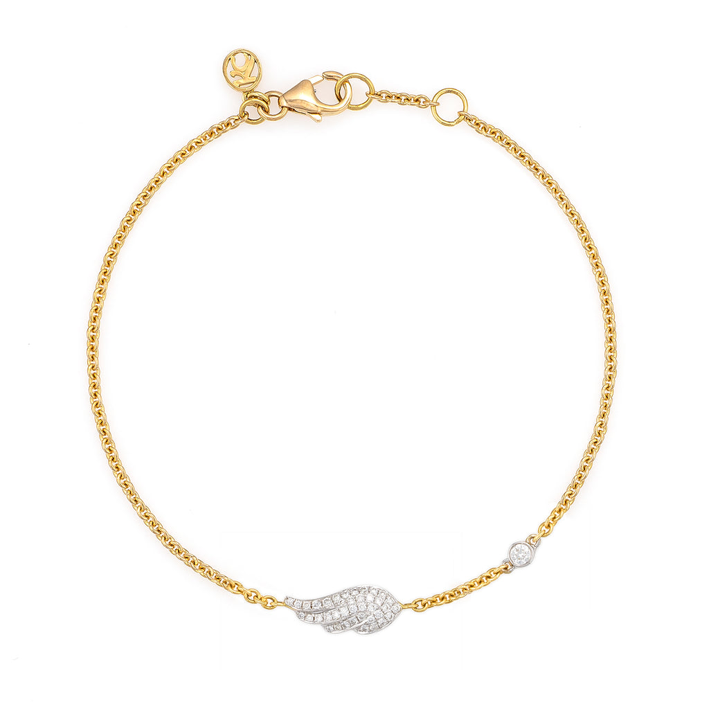White Diamond (Special Edition) Baby Wing Bracelet