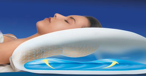 Choosing The Best Pillow For Neck Pain The Water Pillow By Mediflow