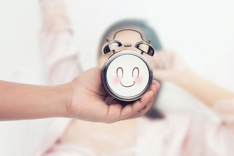 Alarm Clock Depicting Health Benefits of Beauty Sleep | Mediflow