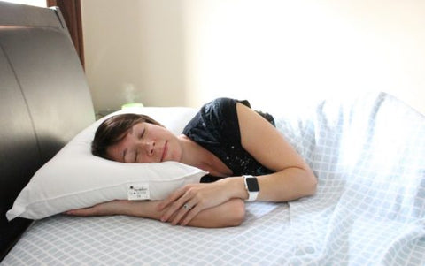 floating comfort supportive water pillow mediflow