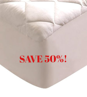 Save 50% - Cotton Classic Mattress Pad | Mediflow